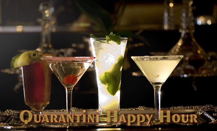 Quarantini Happy Hour image